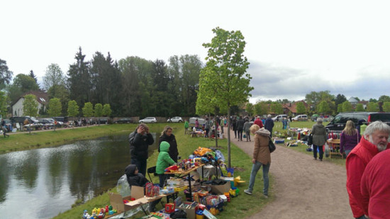 Flohmarkt im Bürgerpark