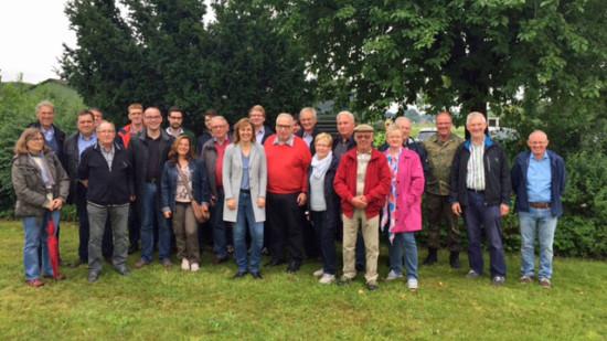 Besucher auf dem Fliegerhorst