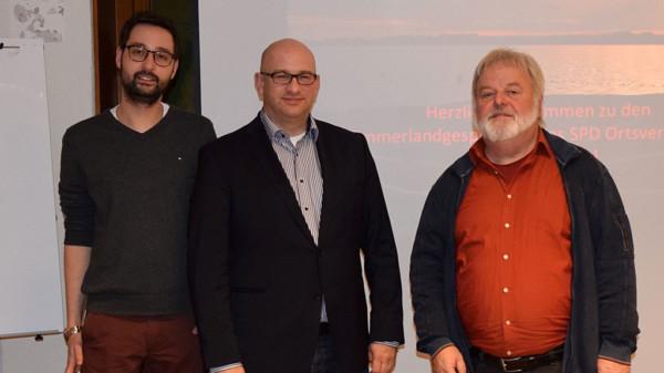 Matthias Galle, Prof.Dr. Kim Schumacher und Heiner Richmann
