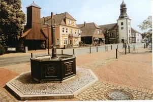 Lemförde Marktplatz