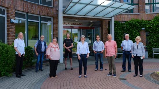 Gruppenbild vom SPD-Team für den Kreistag